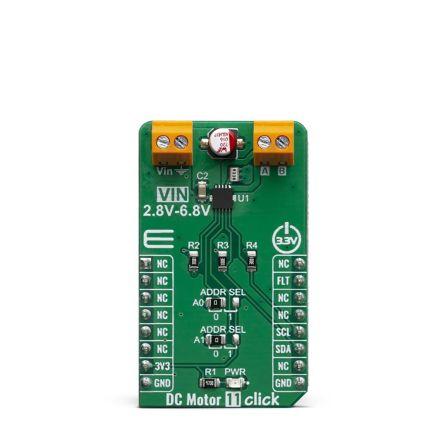 MikroElektronika DC Motor 11 Click Analogue, GPIO MIKROE-3649
