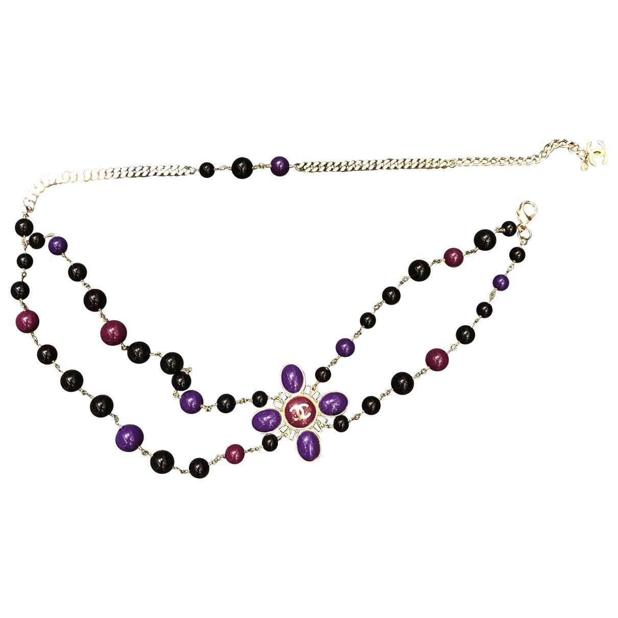 Chanel \N Purple Chain belt for Women M International