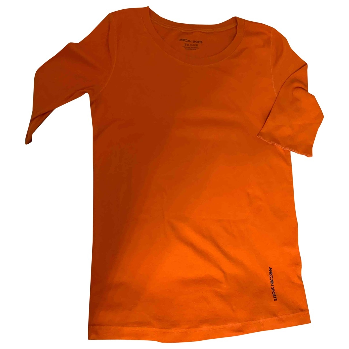Marc Cain \N Orange Cotton  top for Women 4 0-5