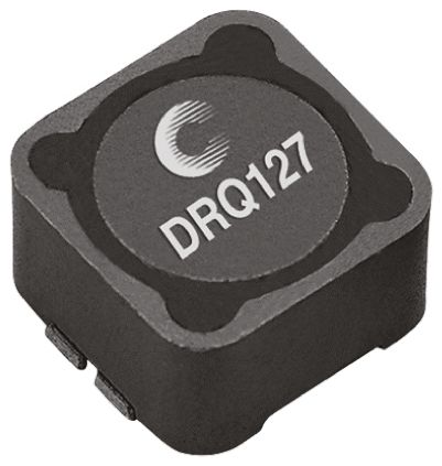 Eaton Bussmann Series , DRQ, 0127 Shielded Wire-wound SMD Inductor with a Ferrite Core, 33 μH ±20% Wire-Wound 6.22A Idc (5)