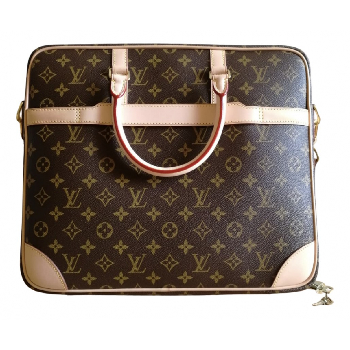 Louis Vuitton N Brown Cloth bag for Men N