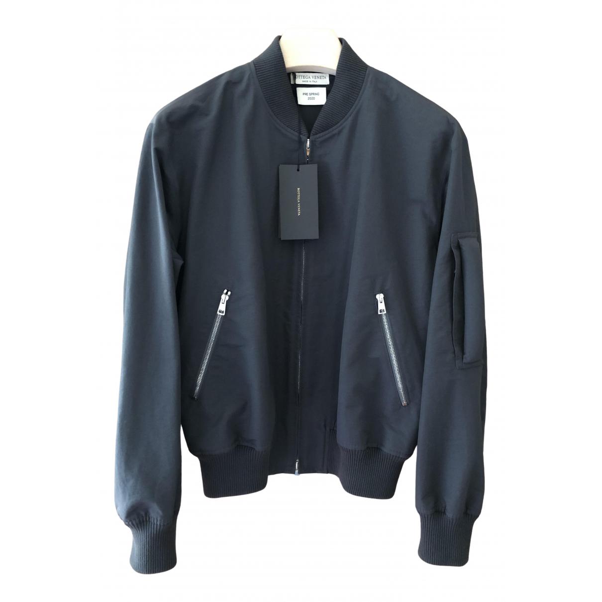 Bottega Veneta \N Anthracite Cotton jacket  for Men 46 IT