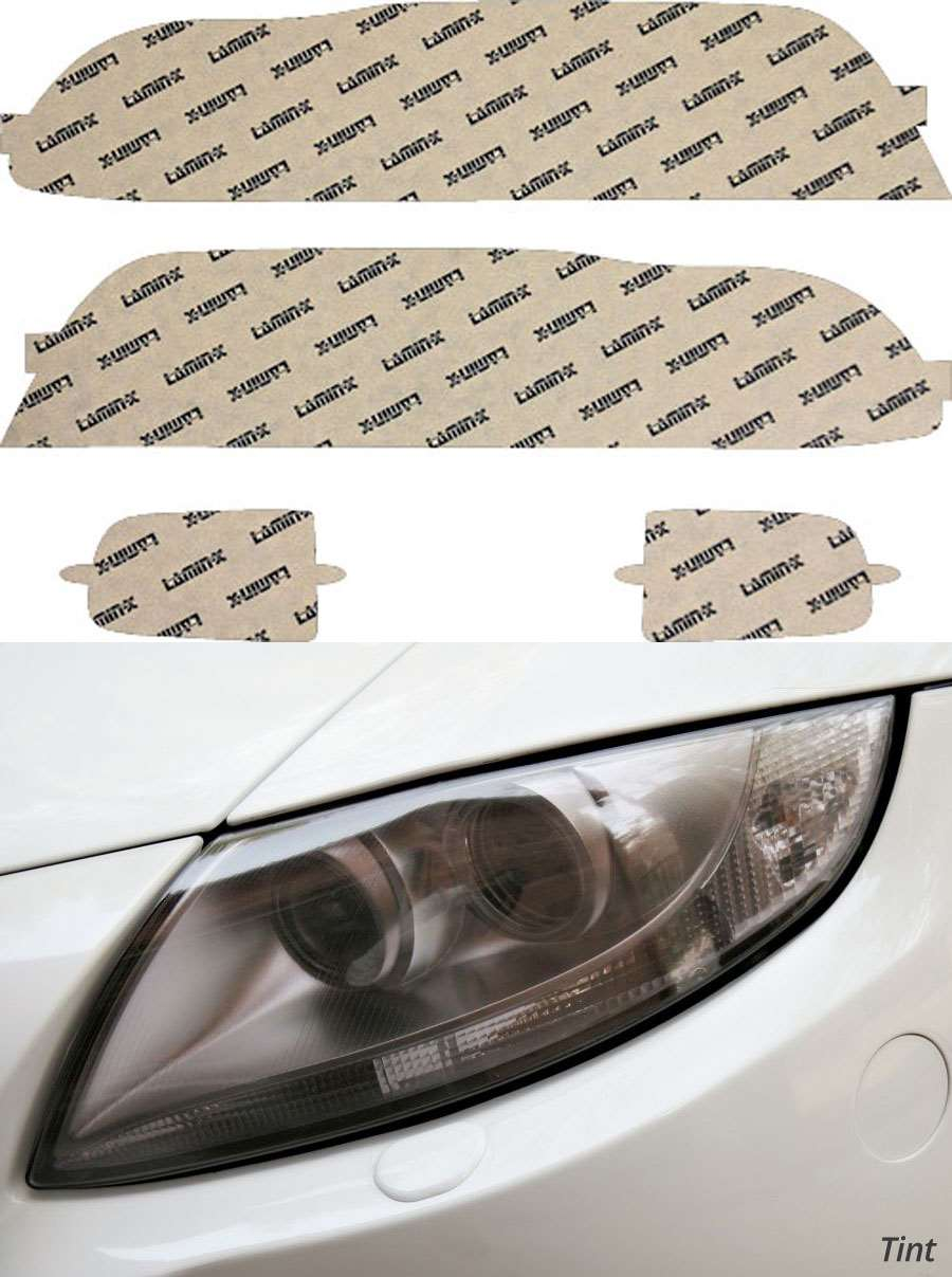 BMW 5-Series 97-00 Tint Headlight Covers Lamin-X B004-1T