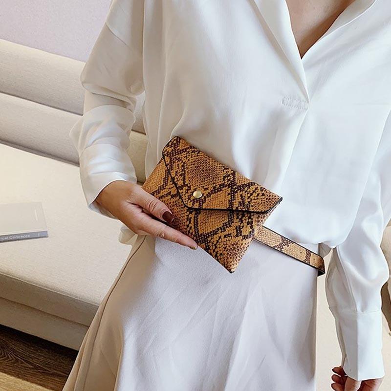 Ericdress Serpentine Women's Envelope Waist Bags