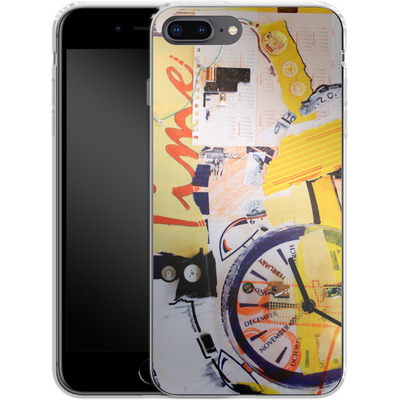 Apple iPhone 8 Plus Silikon Handyhuelle - Its Time For von Kaitlyn Parker