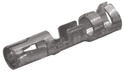 TE Connectivity , Commercial MATE-N-LOK Female Crimp Terminal Contact 14AWG 350388-1 (10)