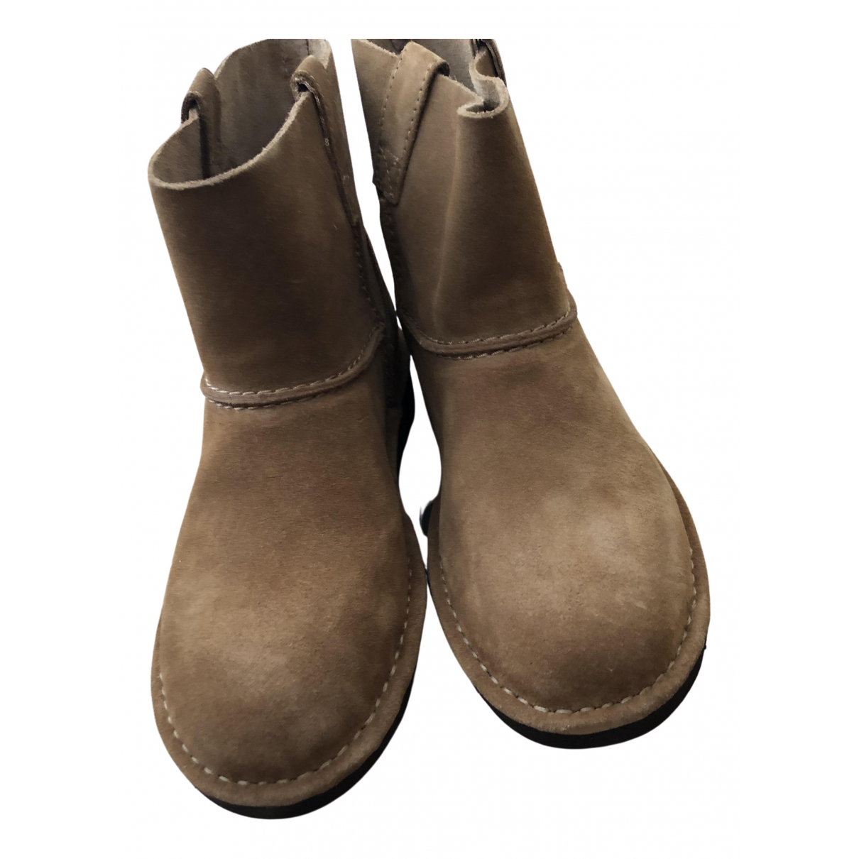 Ugg \N Brown Suede Boots for Women 37 EU