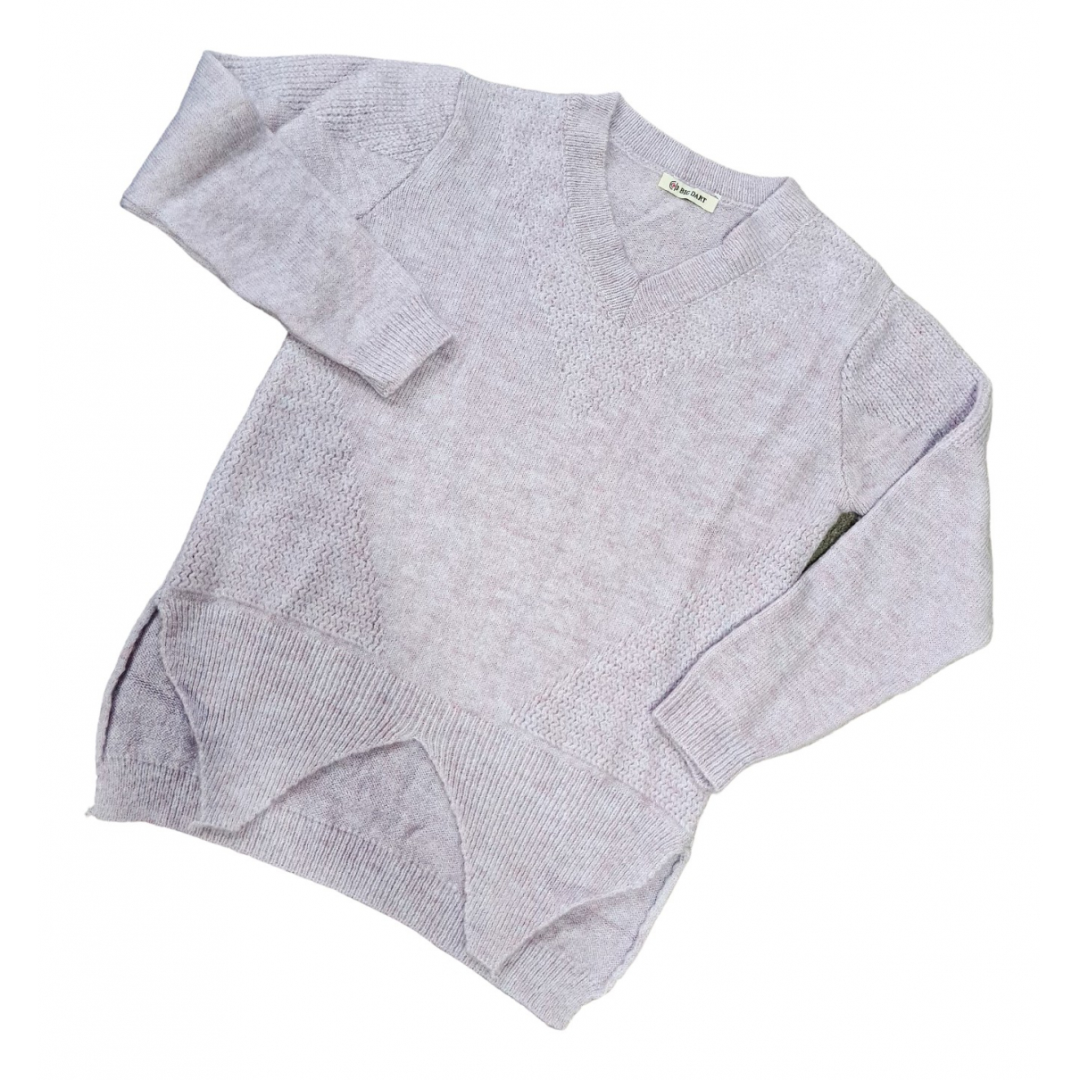 Non Signé / Unsigned \N Purple Wool Knitwear for Women M International
