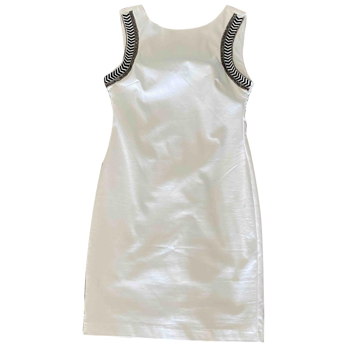 Zara \N Kleid in  Weiss Polyester
