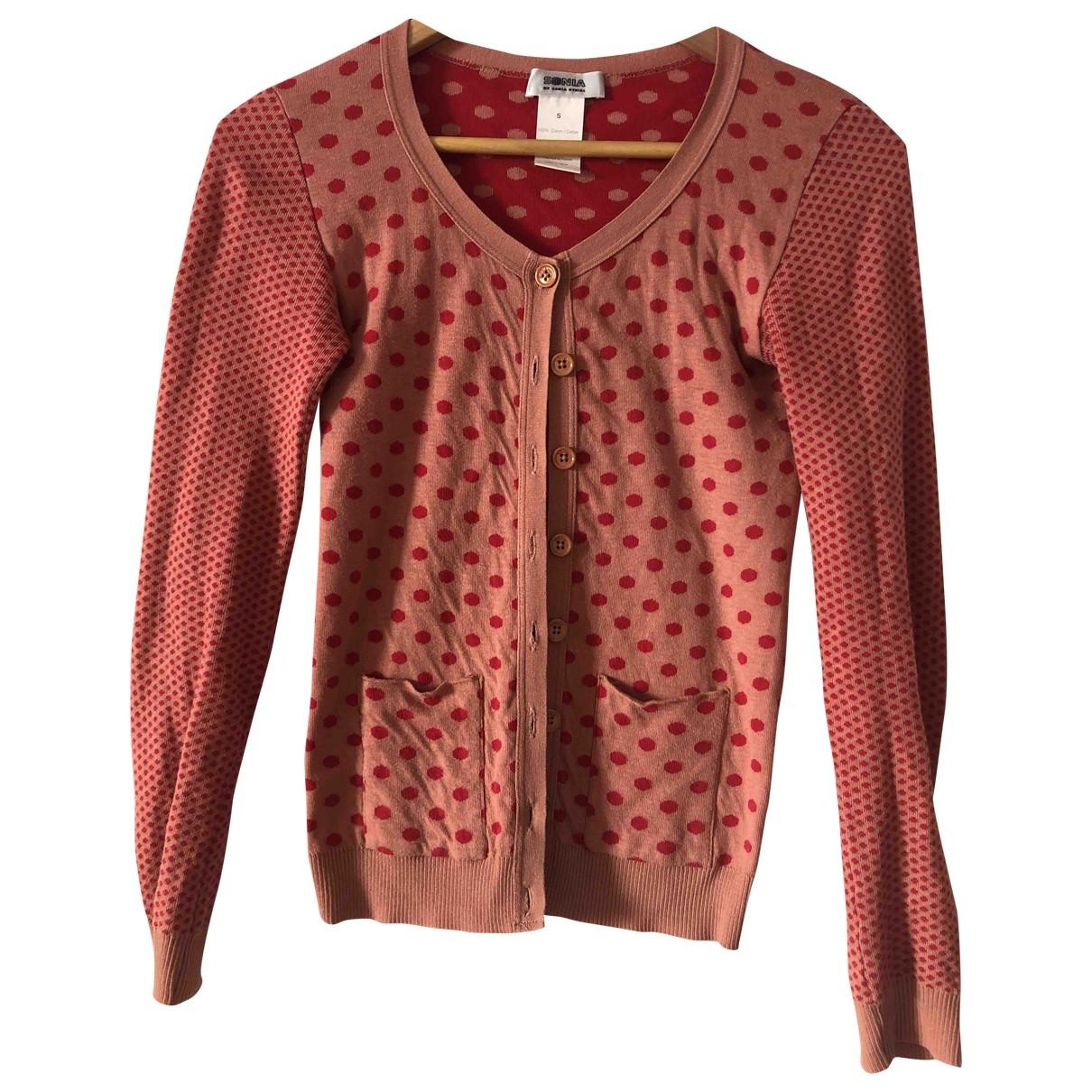 Sonia By Sonia Rykiel - Pull   pour femme en coton - rouge