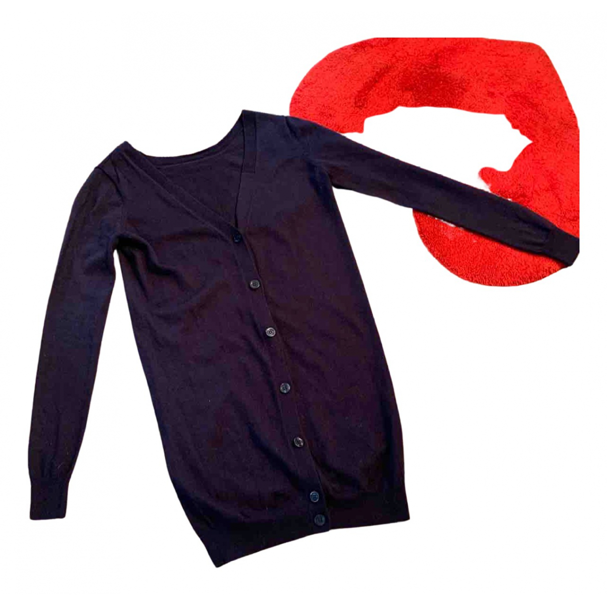 - Pull Oversize pour femme en laine - violet