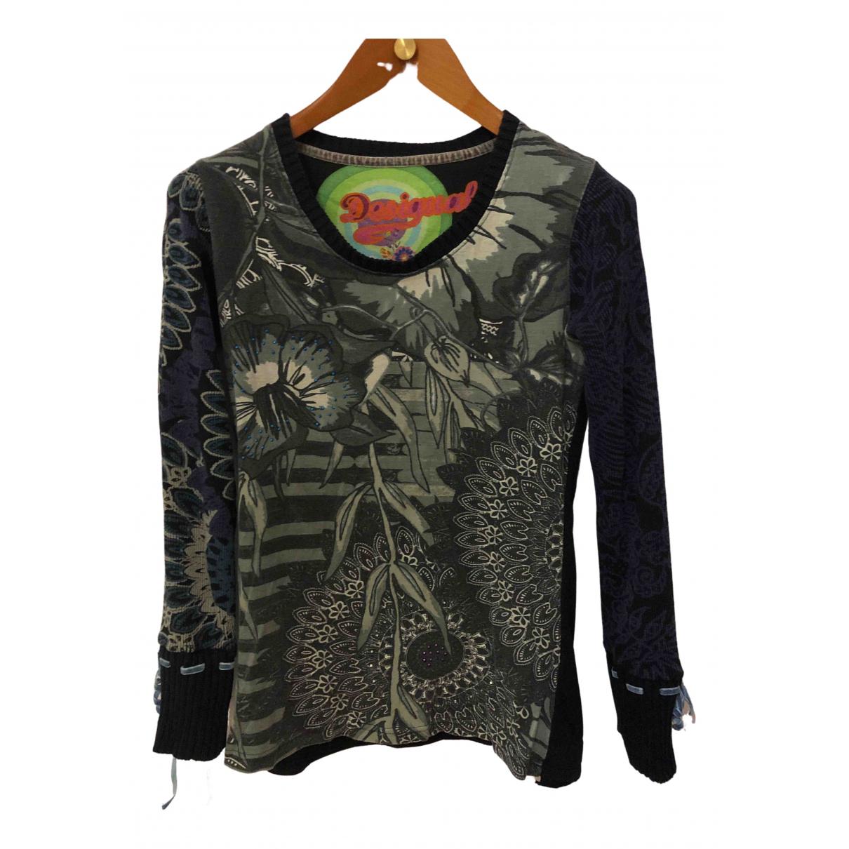 Desigual \N Multicolour Cotton Knitwear for Women 40 FR