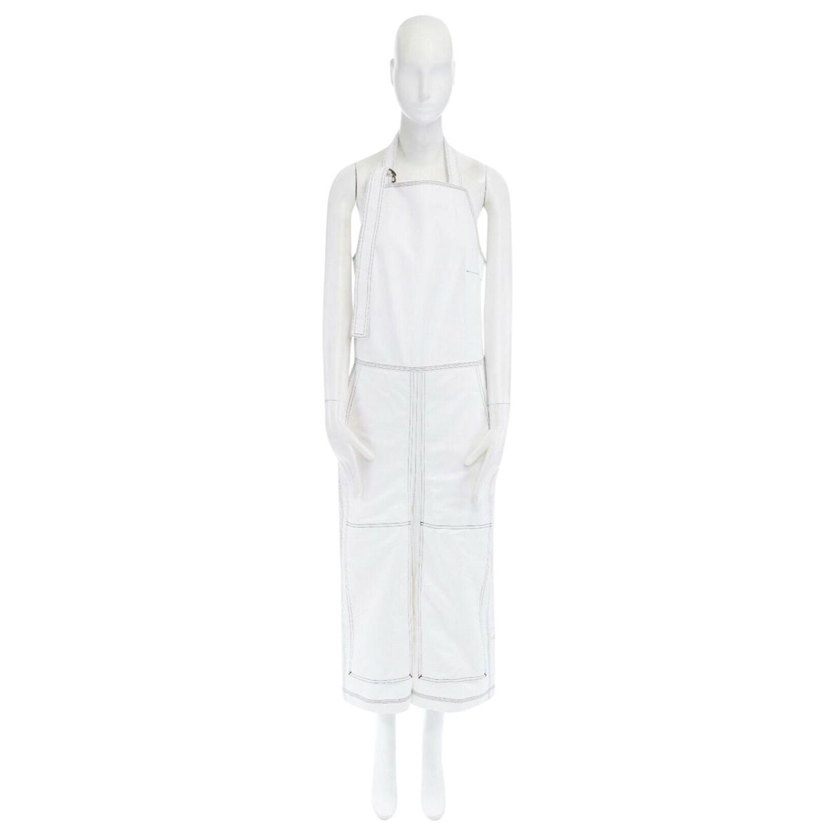 Vetements - Combinaison   pour femme en coton - blanc