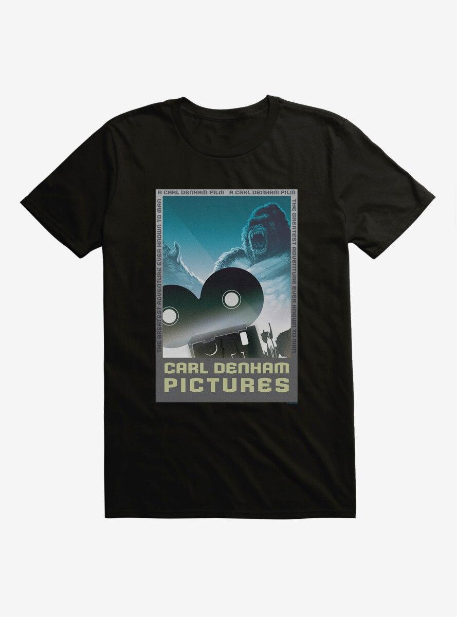 King Kong Carl Denham Pictures T-Shirt