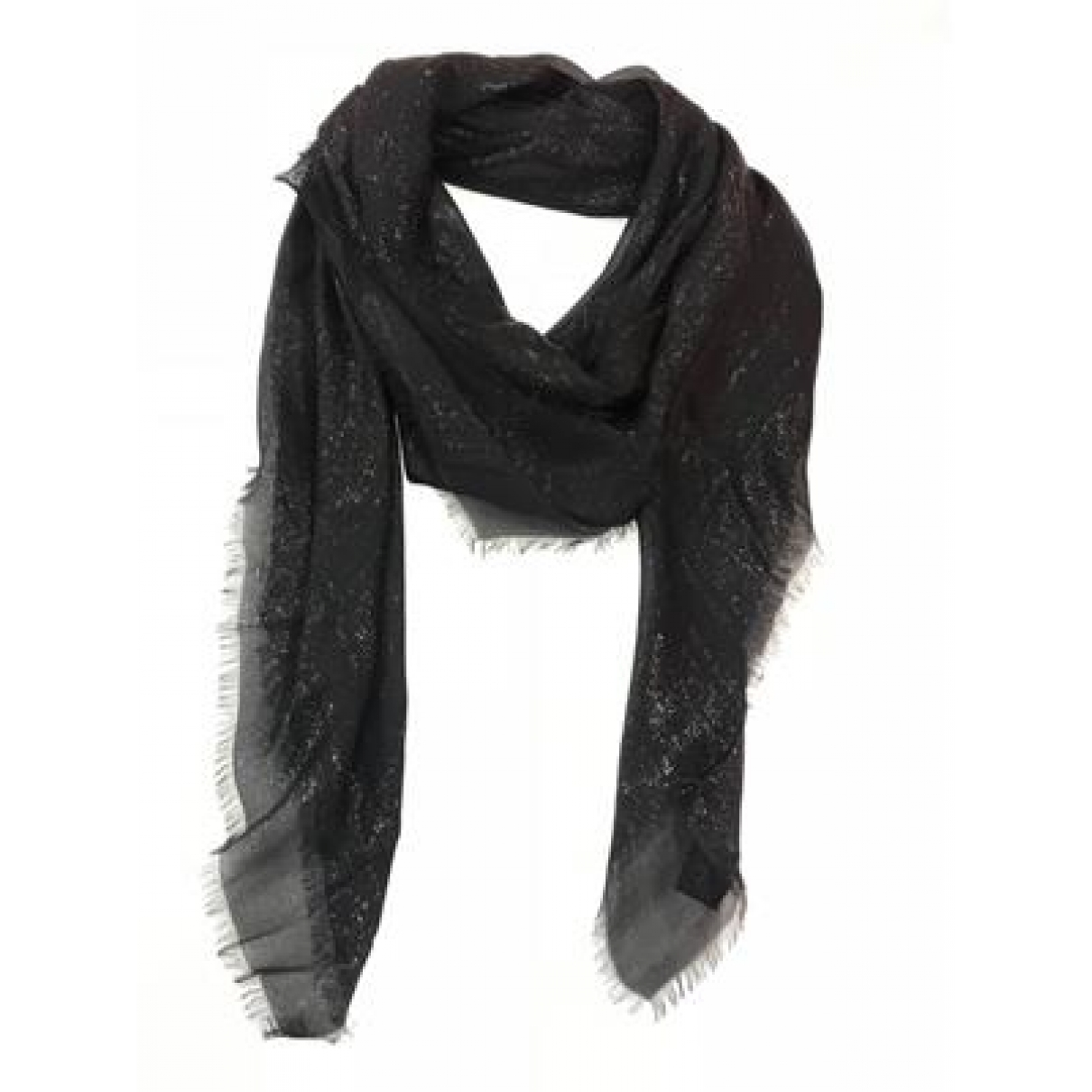 Gucci \N Black Silk scarf for Women \N
