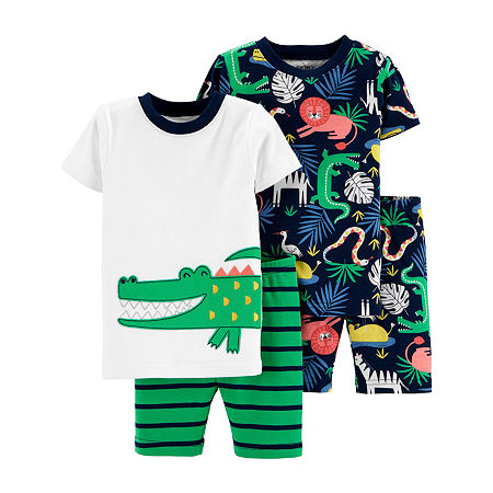 Carter's Baby Boys 4-pc. Pajama Set, 18 Months , Multiple Colors