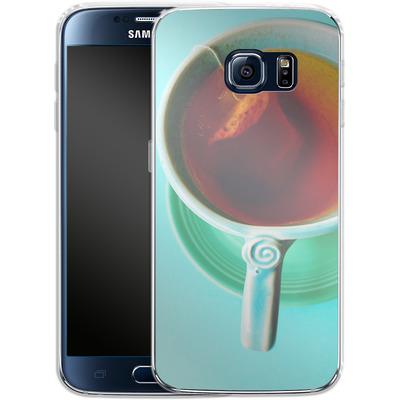 Samsung Galaxy S6 Silikon Handyhuelle - Morning von Joy StClaire