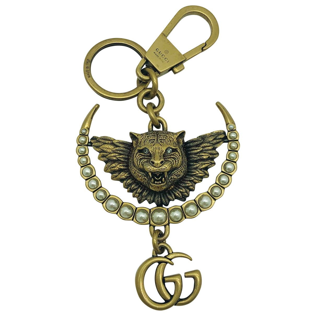 Gucci \N Gold Metal Bag charms for Women \N