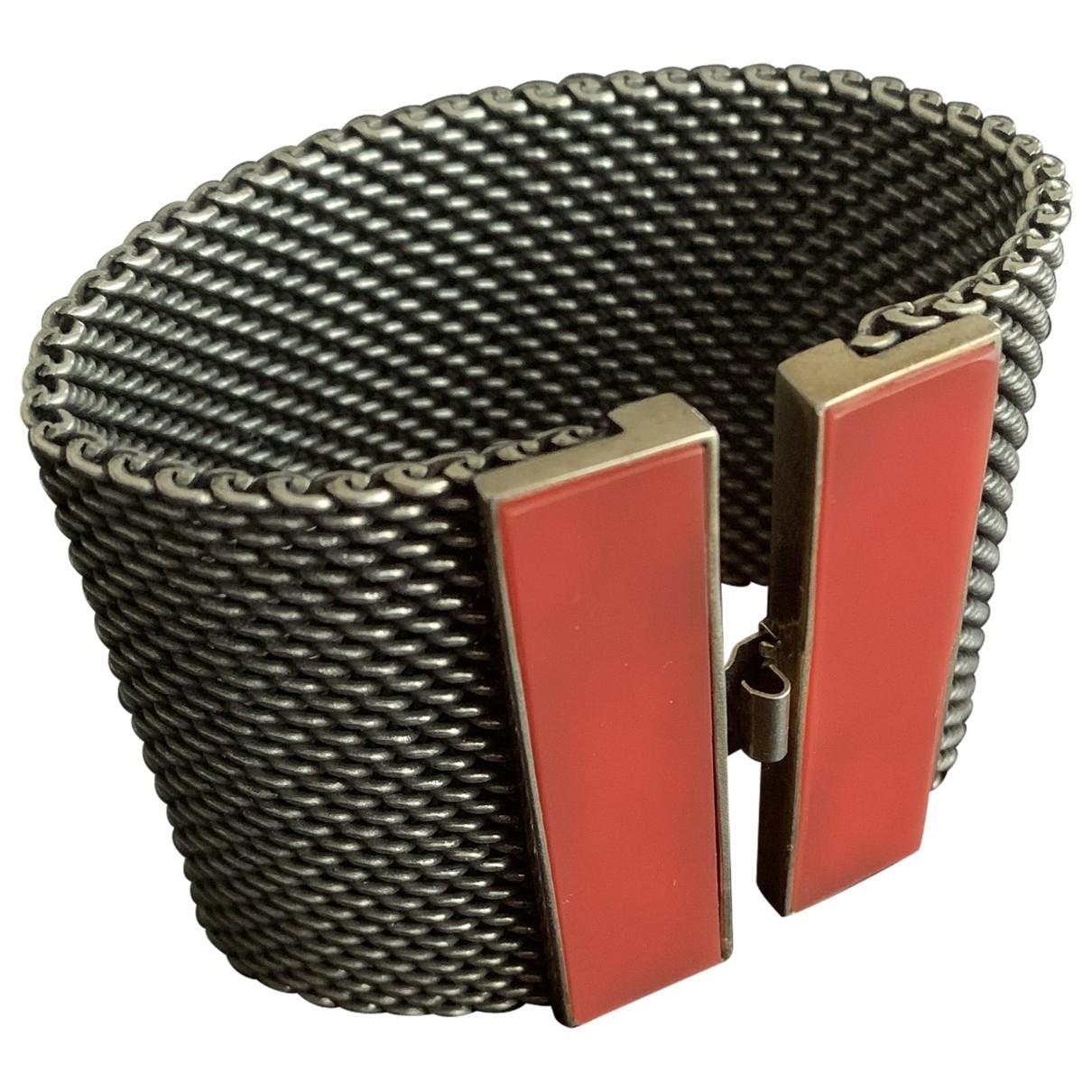 Uterque \N Orange Metal bracelet for Women \N