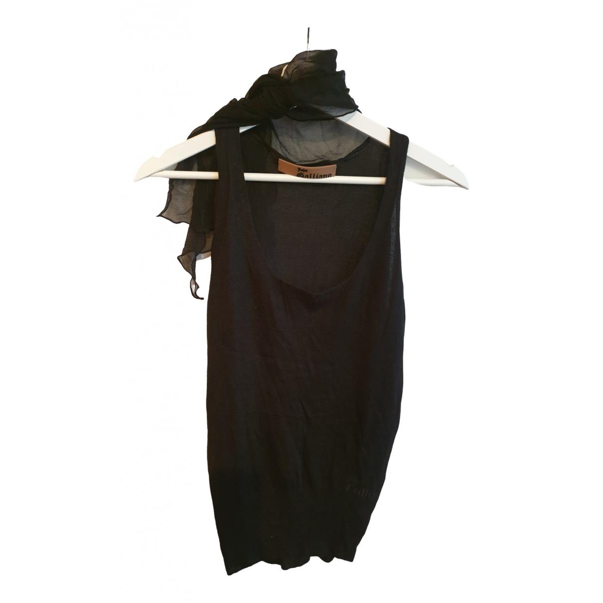John Galliano \N Black  top for Women 36 FR