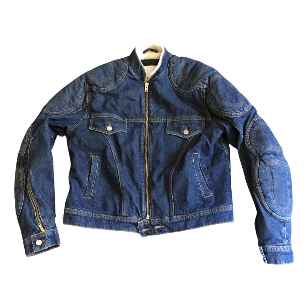 Gmbh \N Jacke in  Blau Denim - Jeans