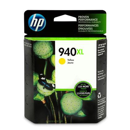 HP 940XL C4909AN cartouche d'encre originale jaune haute capacité