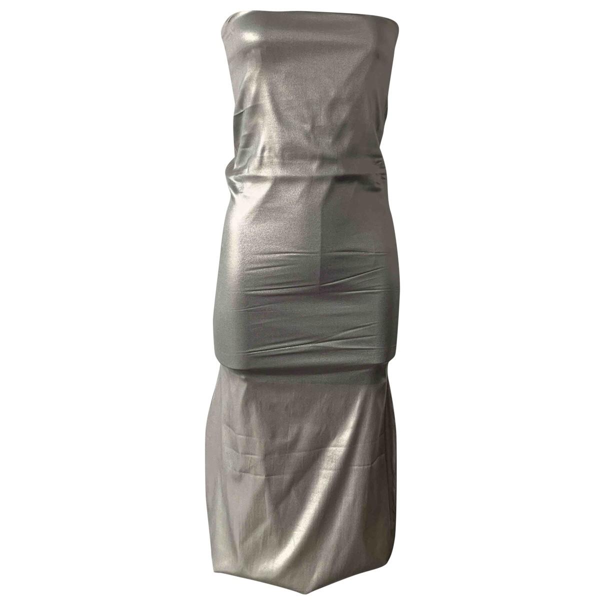 Jil Sander - Robe   pour femme - metallise