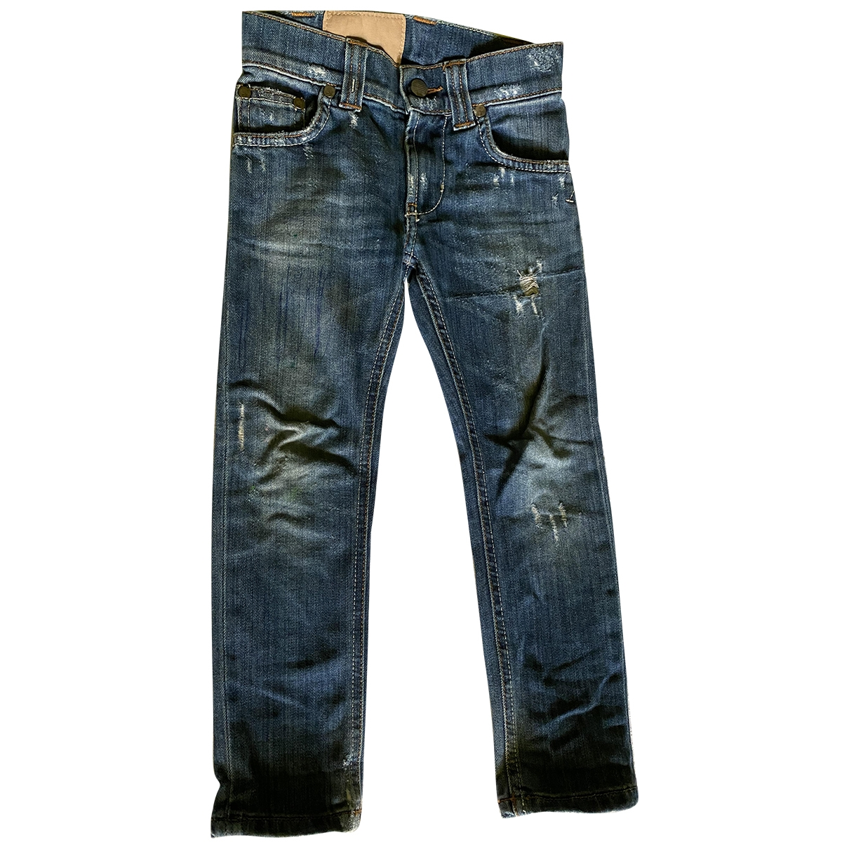 Dondup \N Blue Denim - Jeans Trousers for Kids 4 years - up to 102cm FR