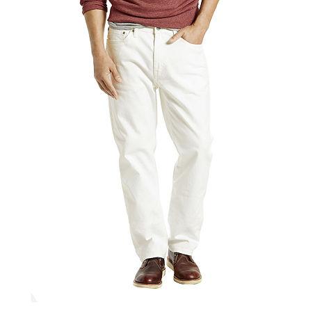 Levi's Men's 541 Athletic Fit Stretch Jeans, 35 32, White