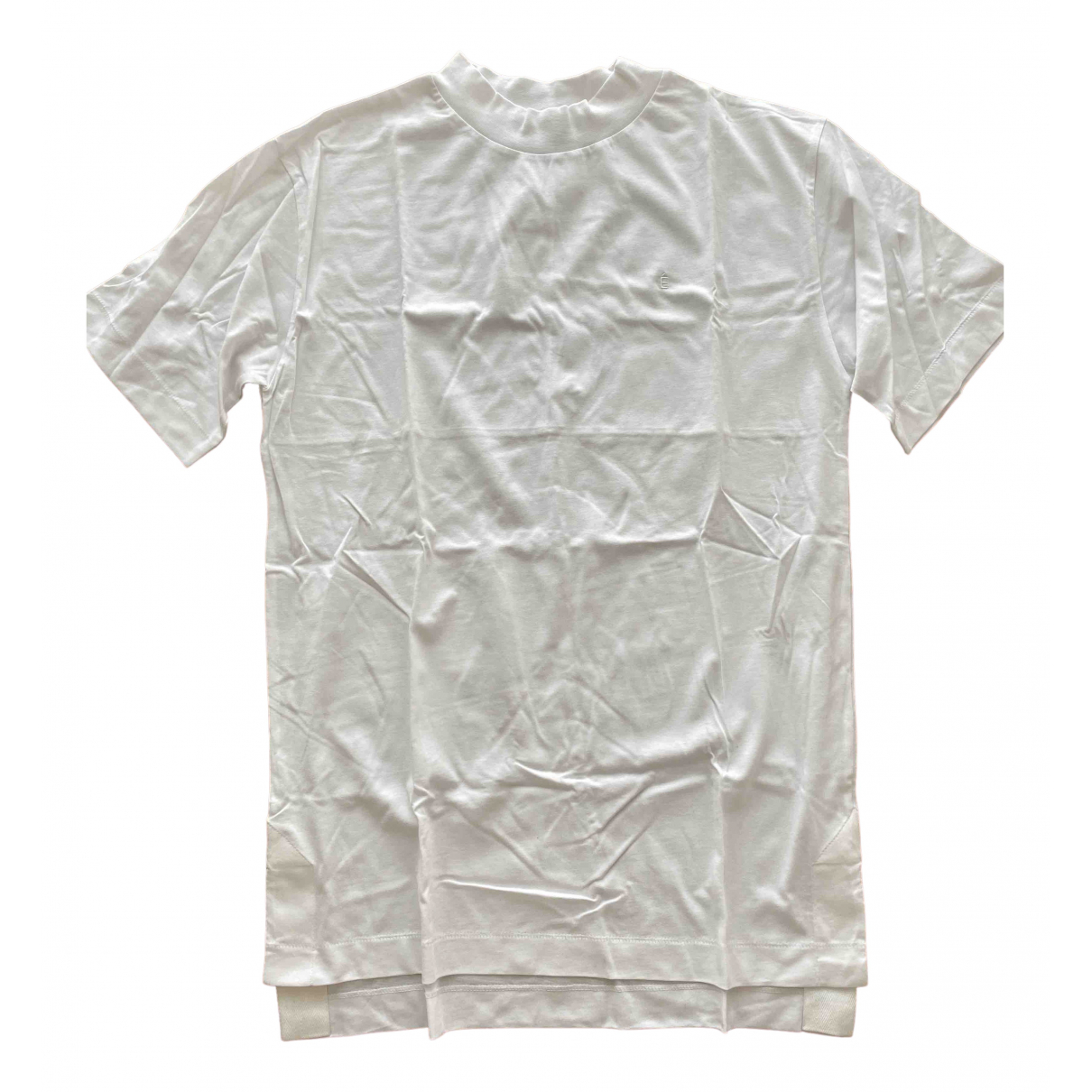 Études Studio \N White Cotton T-shirts for Men XS International