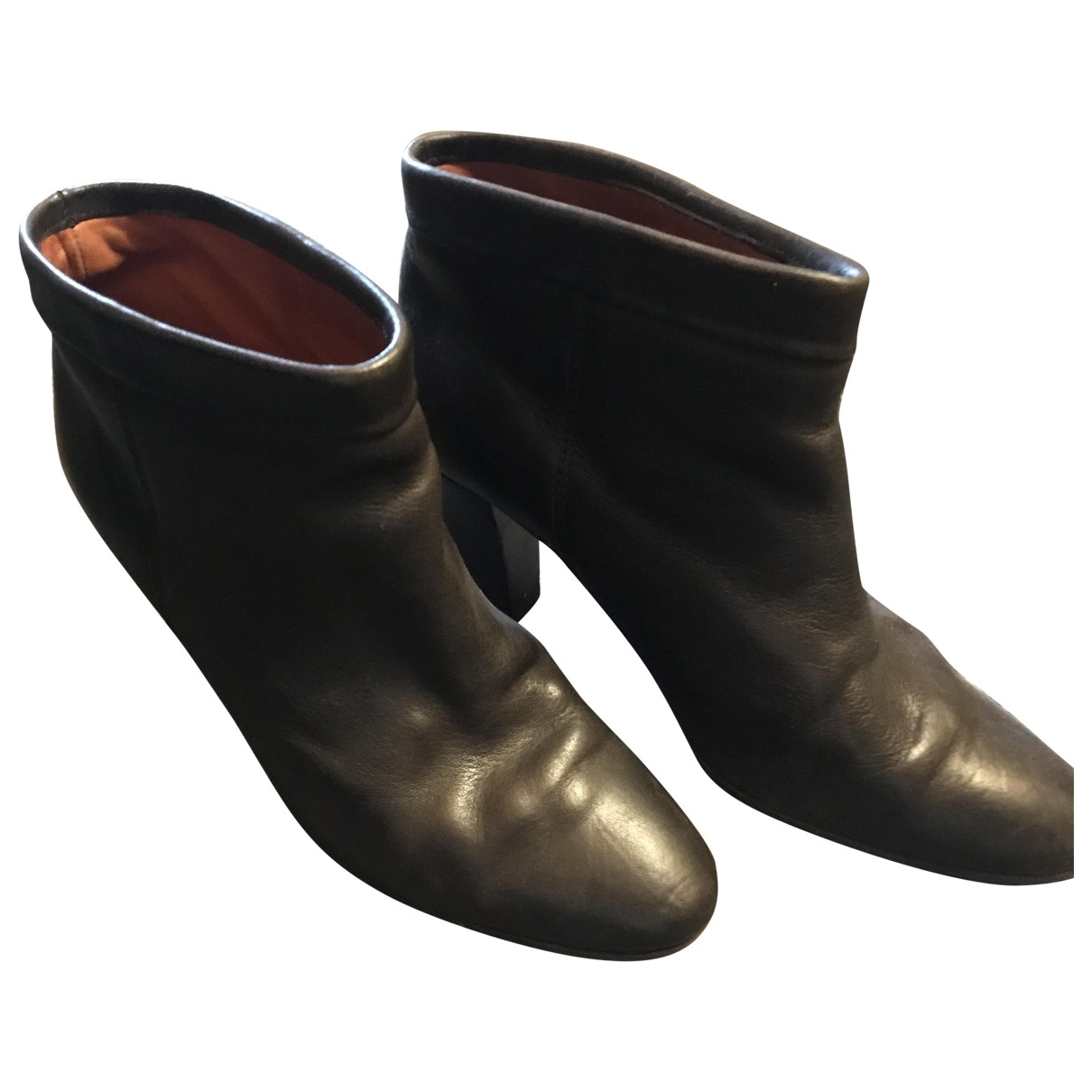 Isabel Marant \N Brown Leather Ankle boots for Women 41 EU