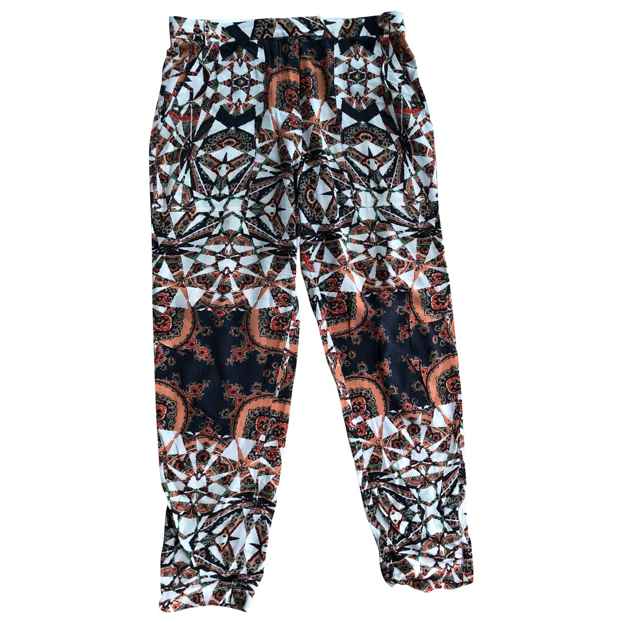 Maje \N Multicolour Trousers for Women 38 FR