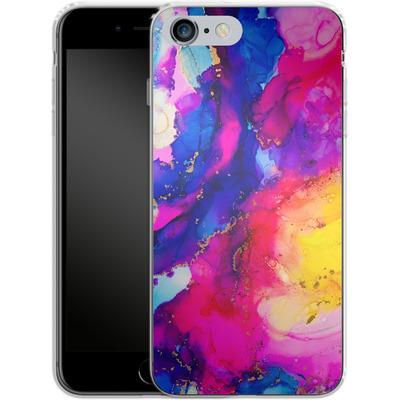 Apple iPhone 6s Plus Silikon Handyhuelle - Cosmic Swirl I von Stella Lightheart