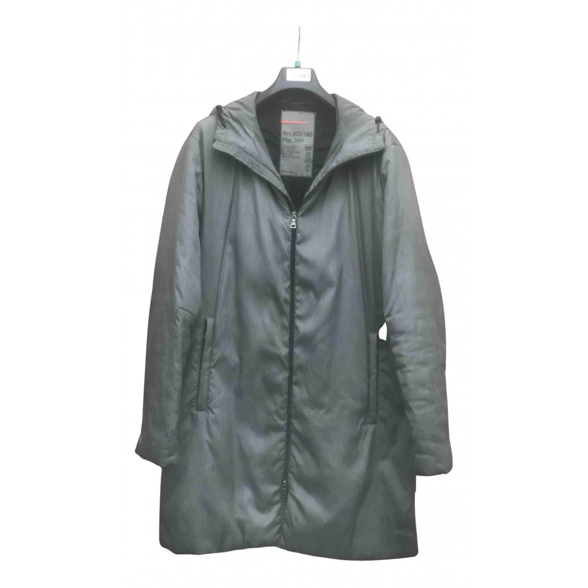 Prada - Manteau   pour homme - vert