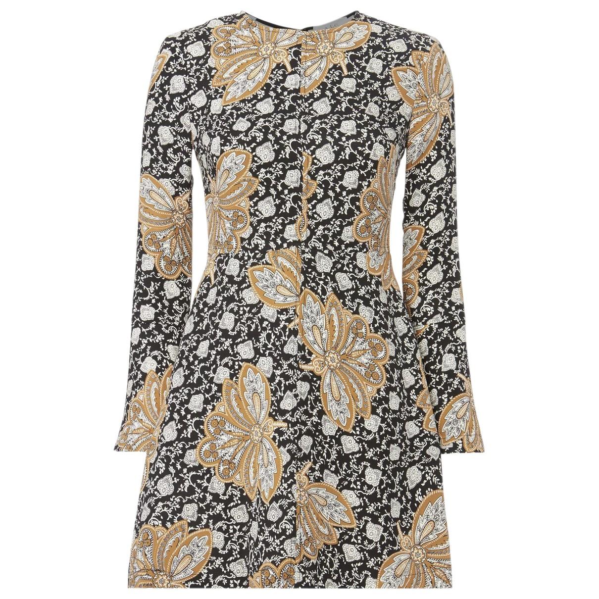 A.l.c N Black Silk dress for Women 8 US