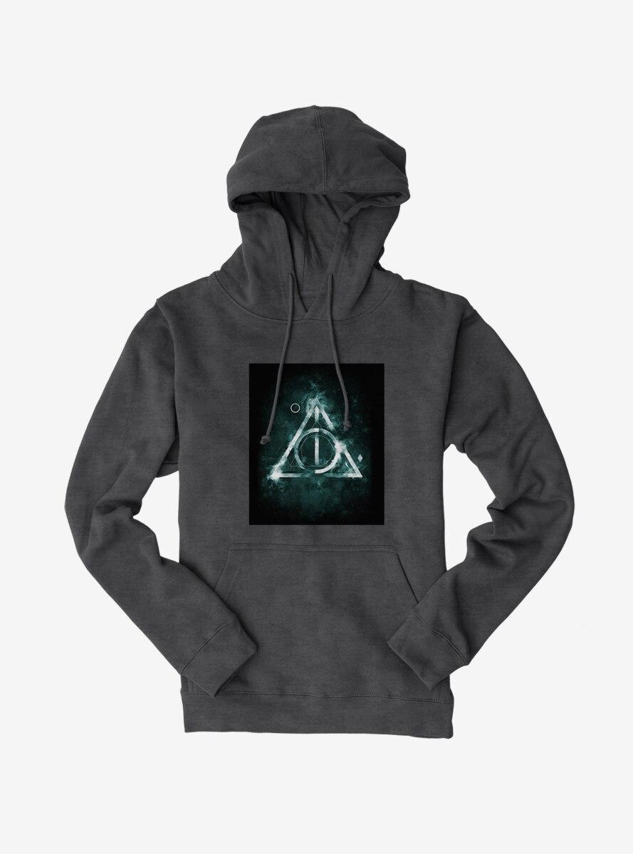 Harry Potter Deathly Hallows Glow Symbol Hoodie