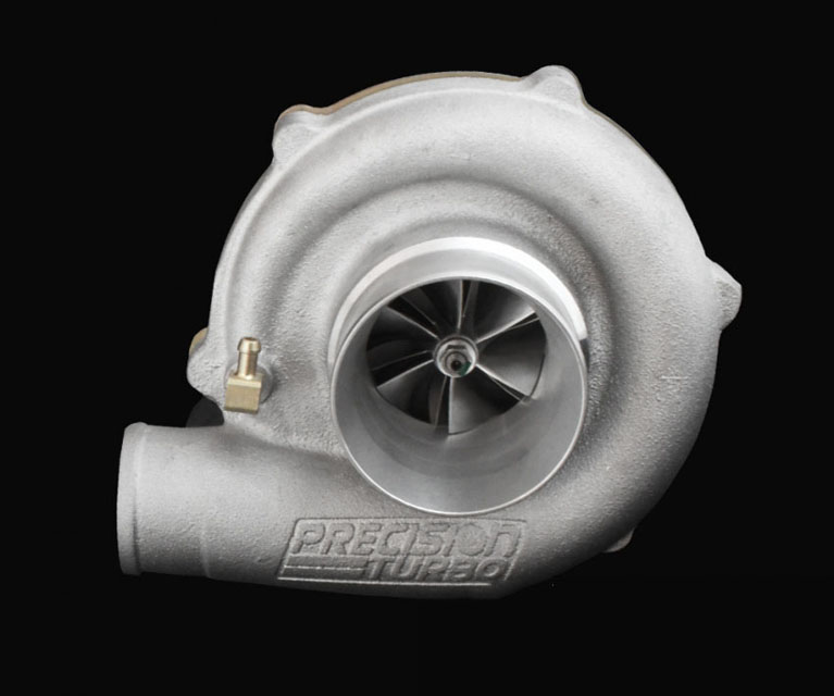 Precision Turbo & Engine 10504301279 GEN1 PT5530 WCBB SP CC w/ T3 Stainless V-Band IN/OUT .64 A/R