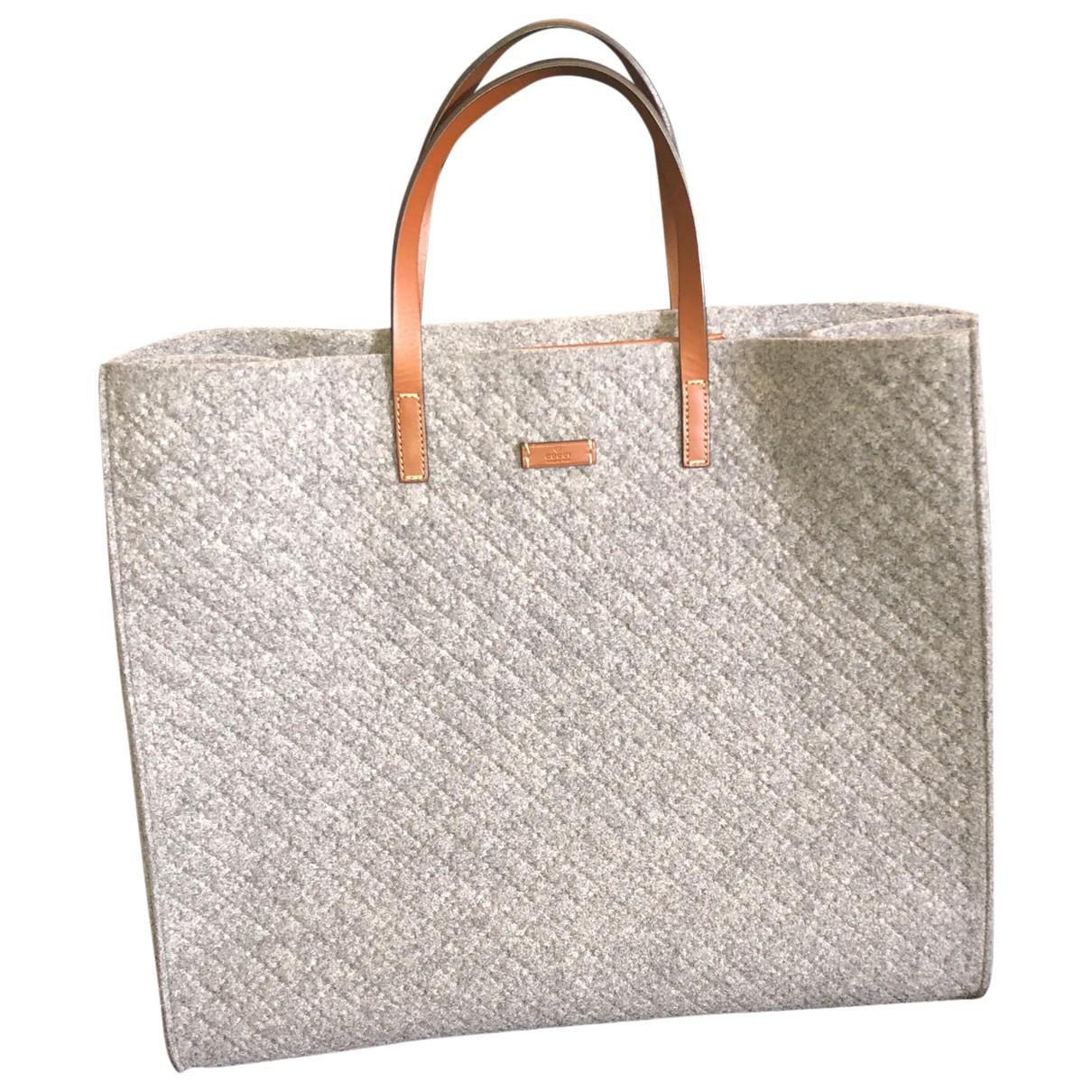 Gucci \N Grey Wool handbag for Women \N