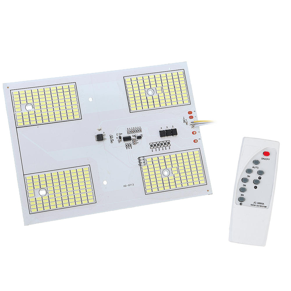 DC6.4V 200W LED Remote Control DIY White Light Source Chip for Light-controlled Solar Street Light