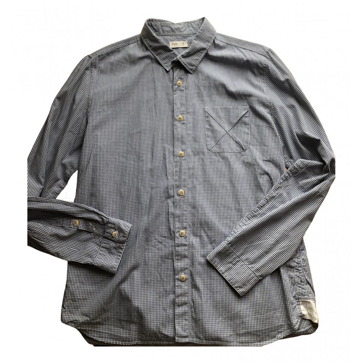 Folk - Chemises   pour homme en coton