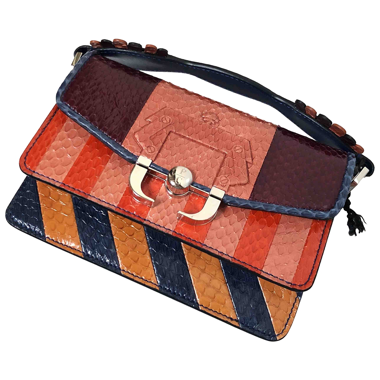 Paula Cademartori \N Multicolour Python handbag for Women \N
