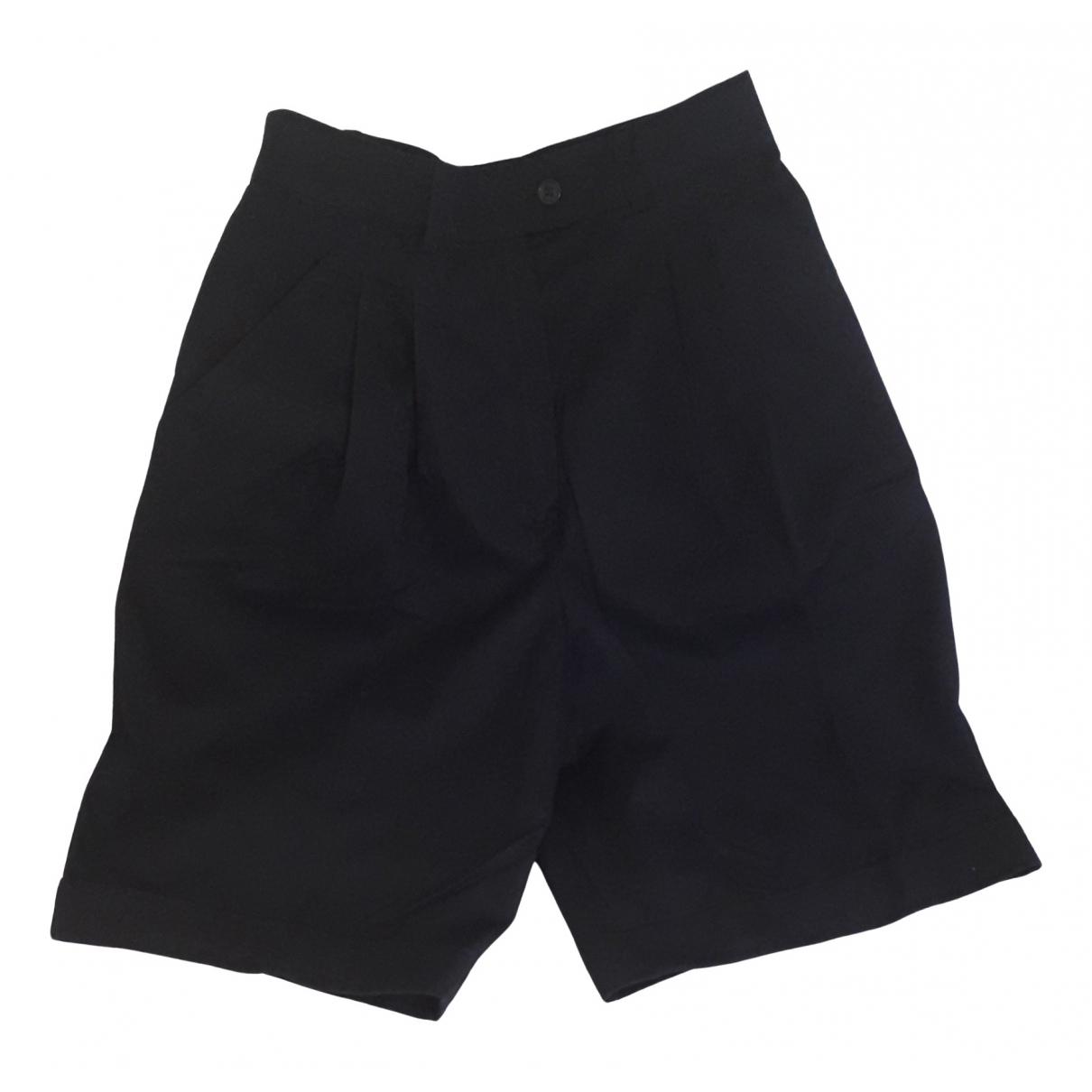 Max Mara Weekend \N Shorts in  Blau Baumwolle