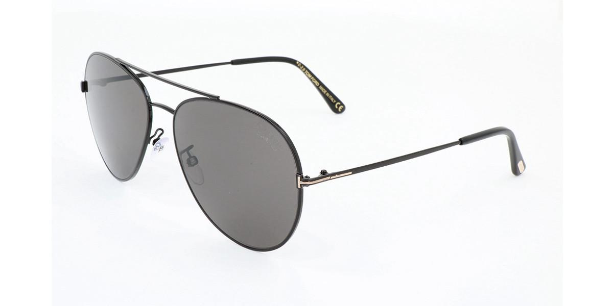 Tom Ford FT0636K Asian Fit 01D Mens Sunglasses Black Size 62