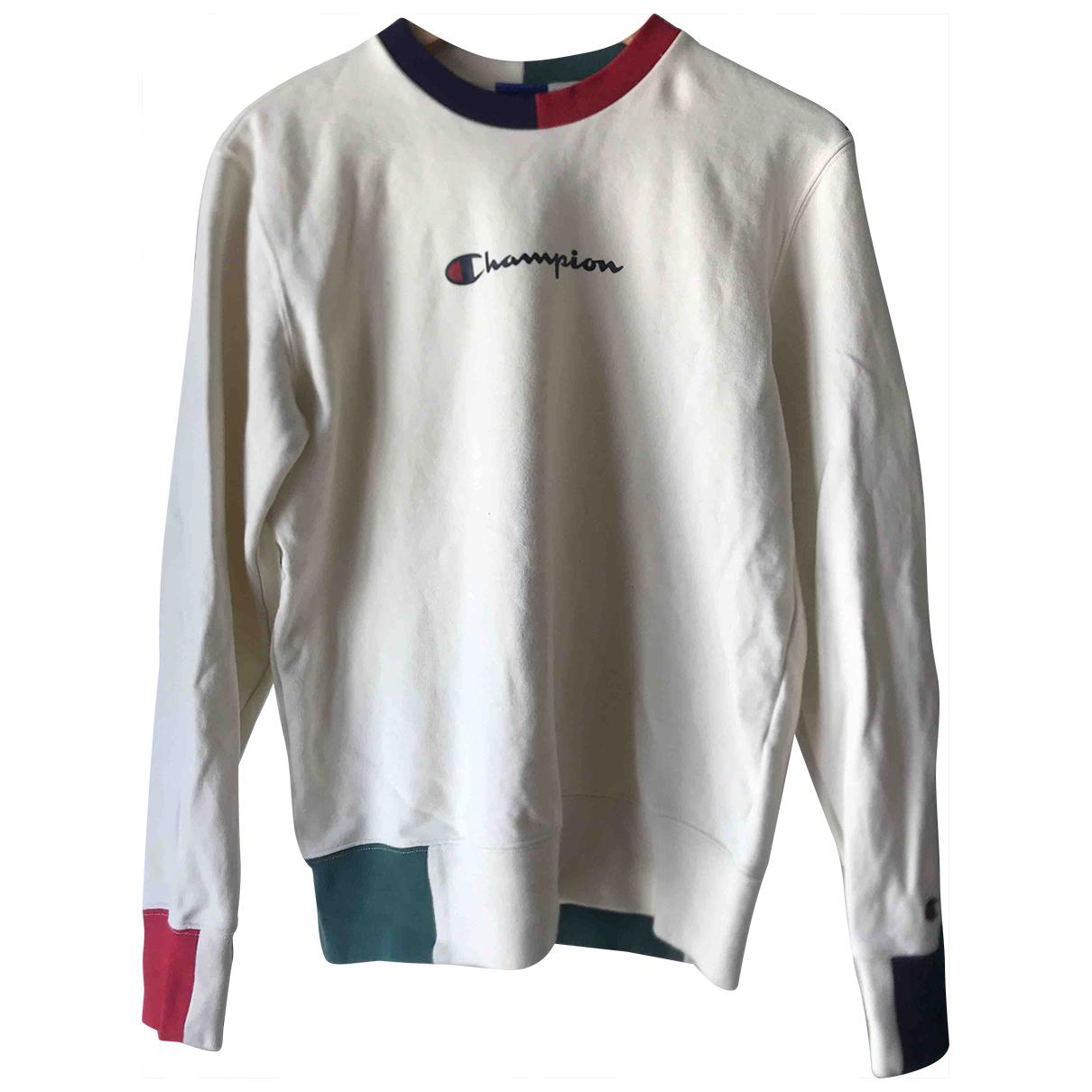 Champion \N Ecru Cotton Knitwear for Women 36 FR