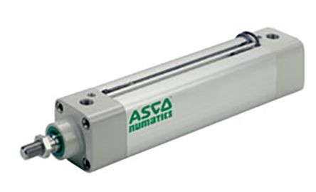 Asco Pneumatic Profile Cylinder 63mm Bore, 160mm Stroke, 453 Series, Double Acting