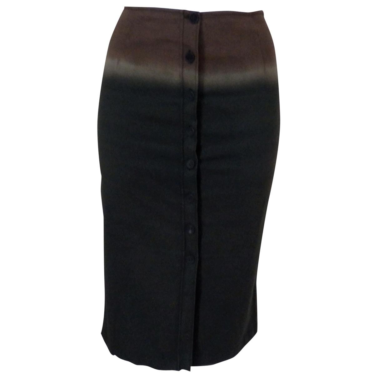Prada - Jupe   pour femme en coton - kaki