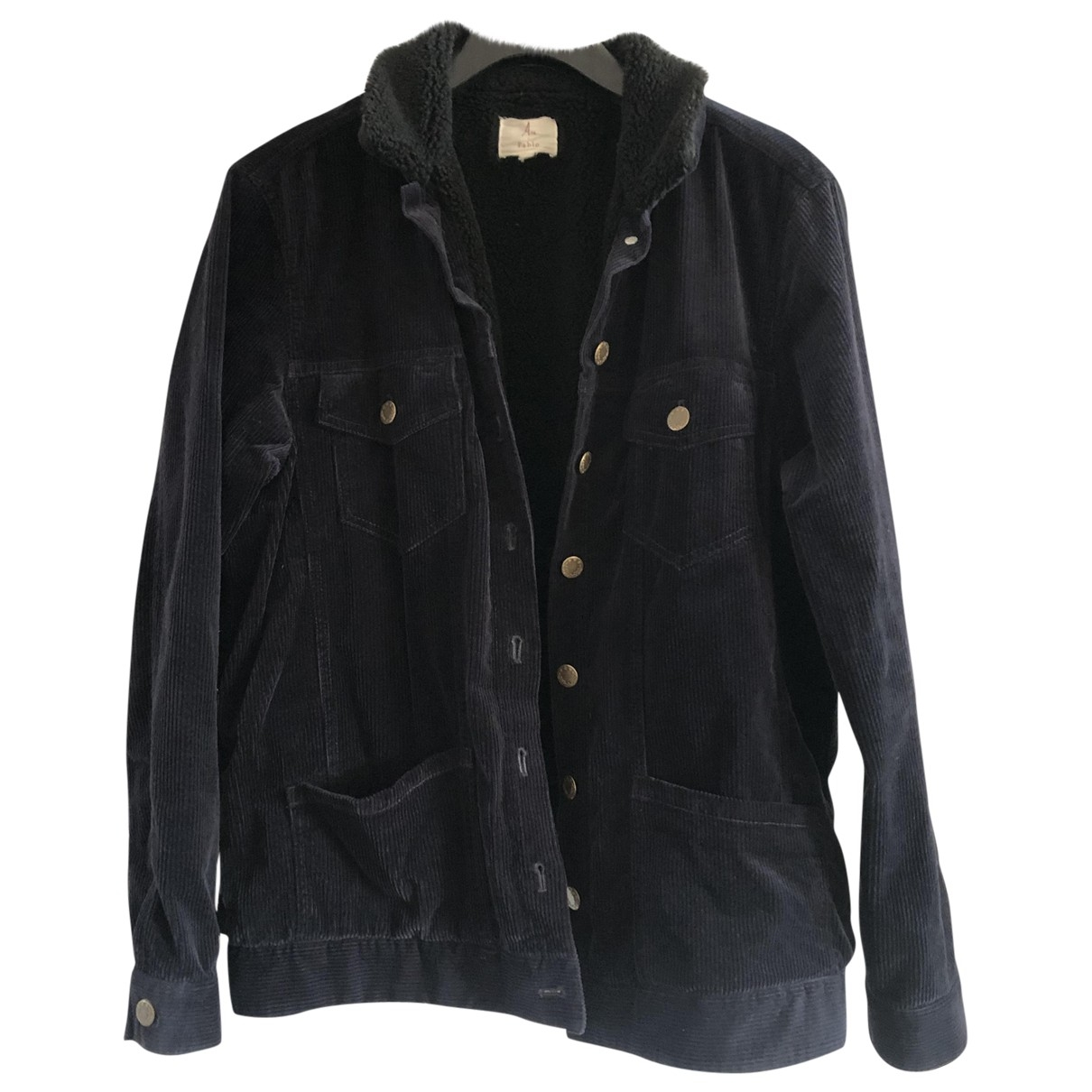 Pablo \N Navy Cotton jacket for Women 38 FR