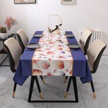 Tischtuch mit Schaltier Muster