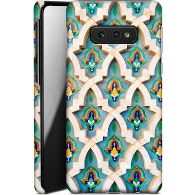 Samsung Galaxy S10e Smartphone Huelle - Moroccan Mosaic von Omid Scheybani