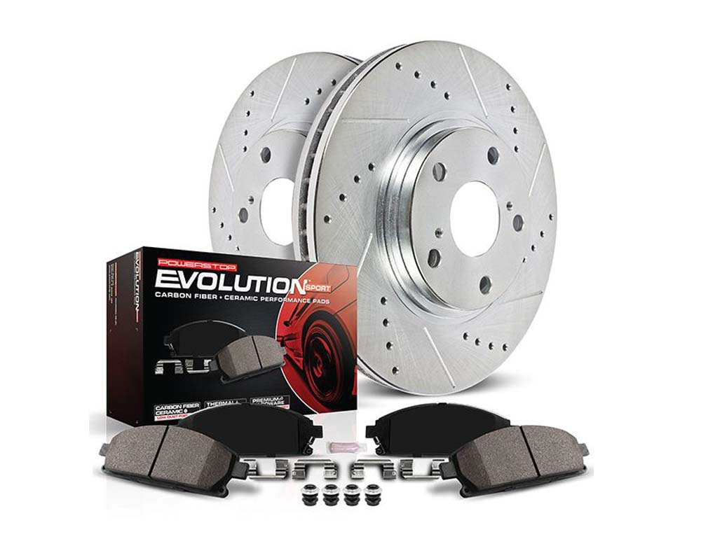 Power Stop Z23-2060 Z23 Evolution Sport Brake Pads w/Hardware Front BMW 530e 2018-2019